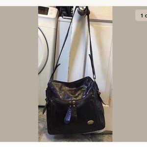 Chloe brown bay leather shoulder bag New